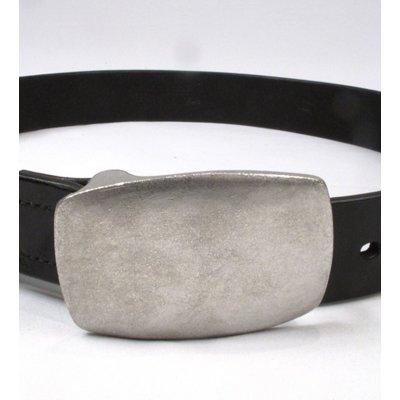 Plate Buckle Super-Heavy Duty Cowhide Belt