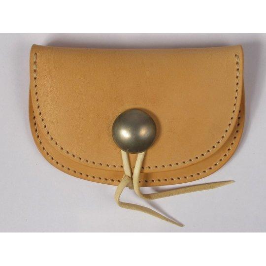 Folding Shoulder Leather Coin Holder