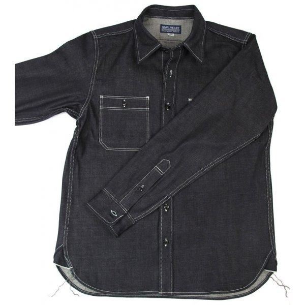 12oz Raw Indigo Selvage Work Shirt