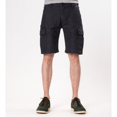 Swedish Serge Camp Shorts - Olive and Black