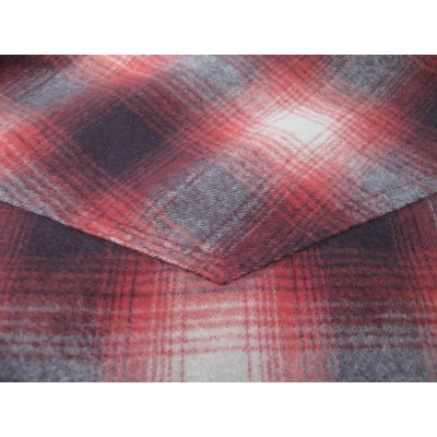 Ombre Check Flannel Western