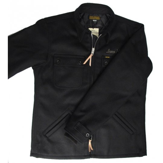 Quilt Lined Melton Wool CPO Jacket