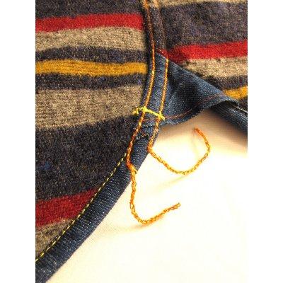 Blanket Lined 8oz Indigo Denim Shirt