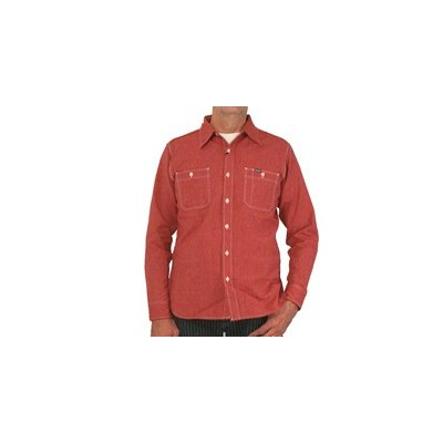 Chambray Work Shirt - Red (Salt & Cayenne)
