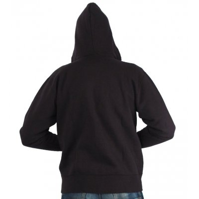 Flat Seamed Plain Hooded Sweat