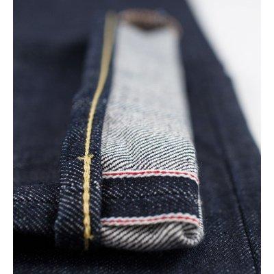 17oz Organic Cotton/Natural Indigo Straight Leg Jean