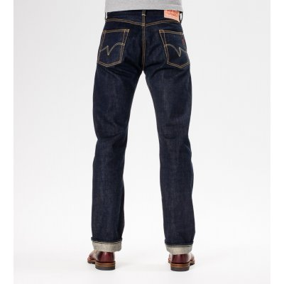 17oz Natural Indigo/Organic Cotton Straight Leg Jean
