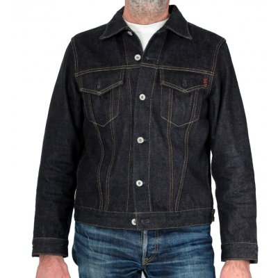 18oz Raw Indigo Selvedge Denim Type III jacket
