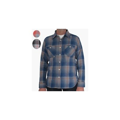 Smoky Check Flannel Work Shirt