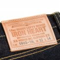 Indigo 19oz Raw Selvedge Left Hand Twill Slim Cut