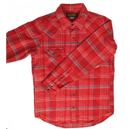Ultra Heavy Check Flannel Western