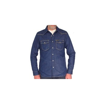 Blanket Lined 8oz Indigo Denim Shirt