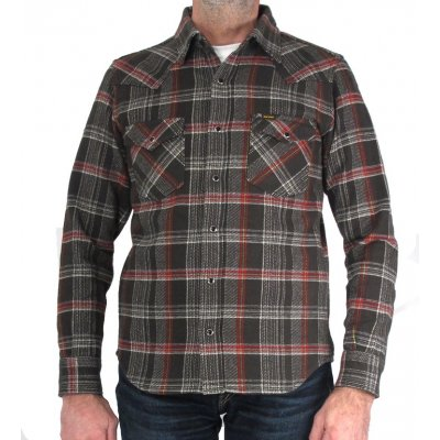 Ultra Heavy Check Flannel Western