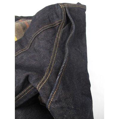 Blanket Lined 21oz Indigo Selvage Denim Jacket