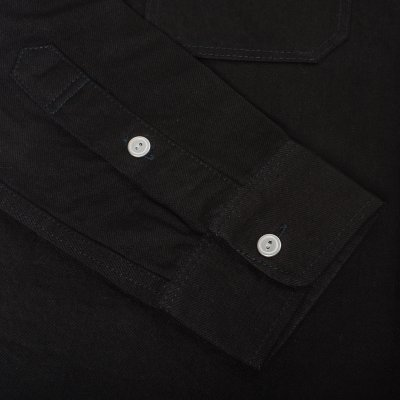 Superblack 12oz Selvedge Denim Work Shirt