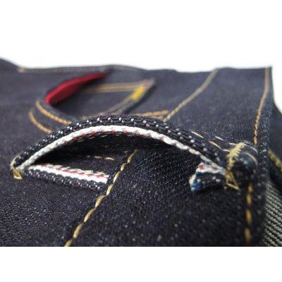 25oz Slimmish Straight Japanese Indigo Selvage Jean