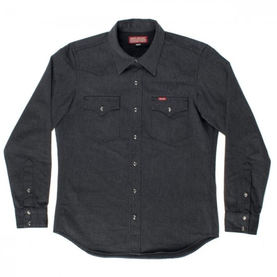Grey 10oz Chino Cloth Western