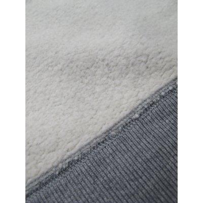 Ultra Heavy Flat Seamed Plain Hooded Sweat