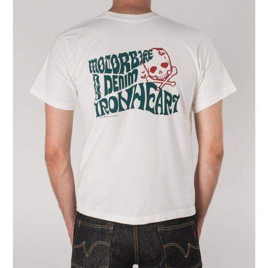 Motorbike and Denim T-Shirt