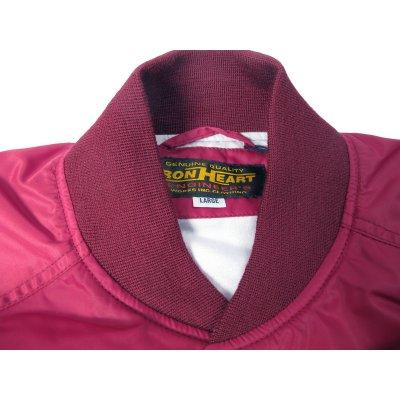 Fleece Lined Nylon Button Up Windbreaker