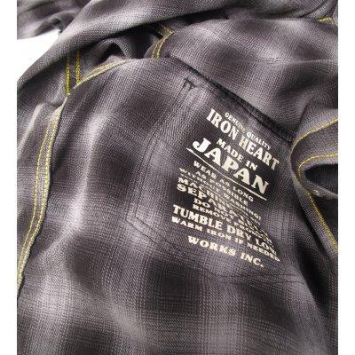 Metallic Thread Flannel Western - Black