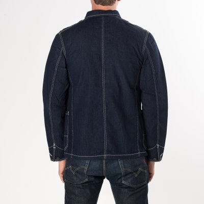 Indigo 11.5oz Jail Denim Chore Jacket