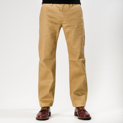 Mercerised Cotton Work Chinos