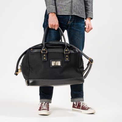 Ultra Stubborn Leather and Canvas Duffel