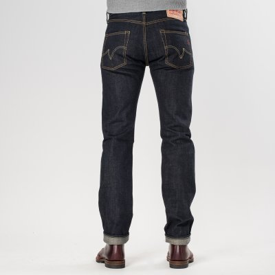 Natural Indigo 17oz Selvedge Denim Super-Slim Tapered Cut