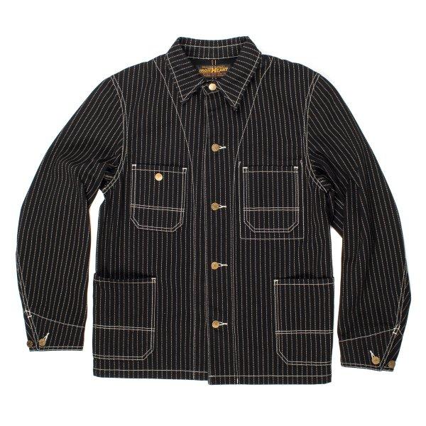 Black Wabash Chore Jacket