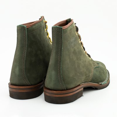 "The Bootery/Wesco® - Olive Burlap ""Foot Patrol"""