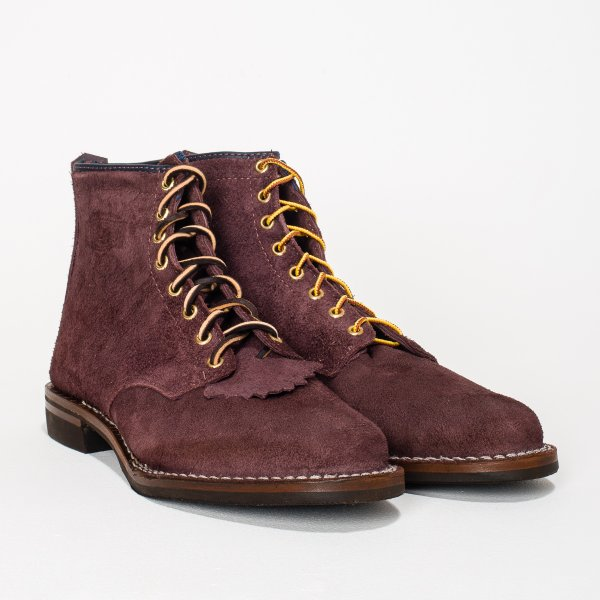 "The Bootery/Wesco® - Plum Rough-Out ""Foot Patrol"""
