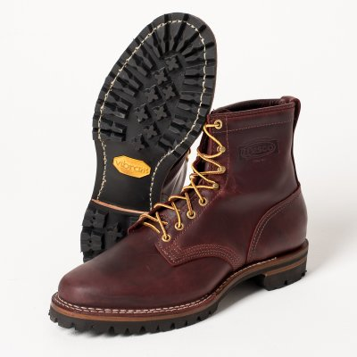 The Bootery/Wesco® - Burgundy Smooth-Out Walking Boot