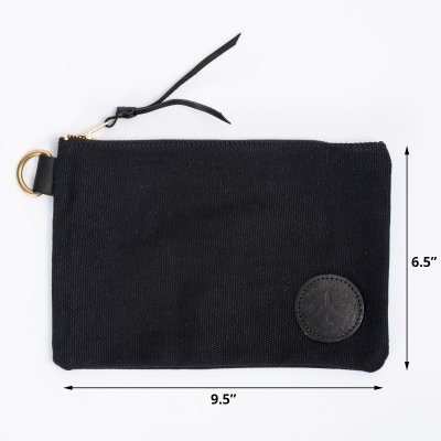 OGL Black Canvas Pouch