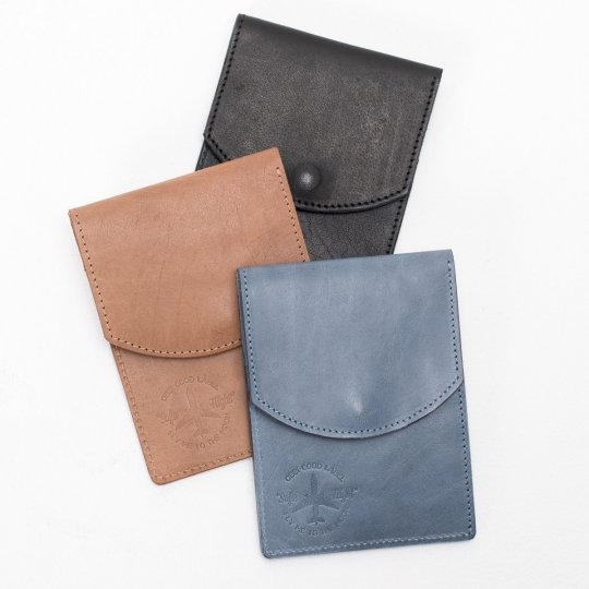 OGL Leather Passport Holder