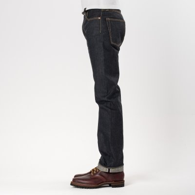 Indigo 16oz Raw Selvedge Denim Straight Cut