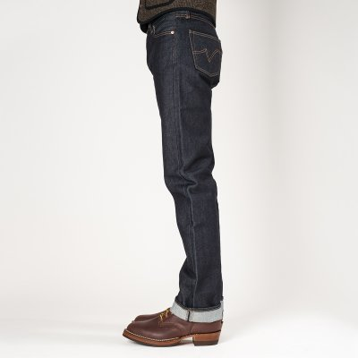 Indigo 21oz Denim Straight Cut