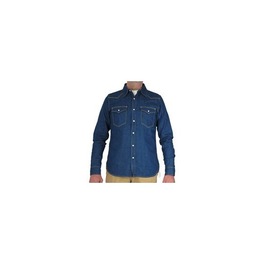 Triple Works 8oz Denim Western Shirt