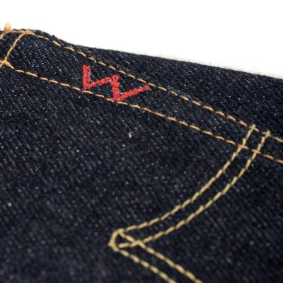 Indigo 21-23oz Raw Selvedge Straight Cut