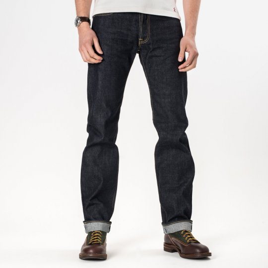 Indigo 14oz Selvedge Denim Straight Cut