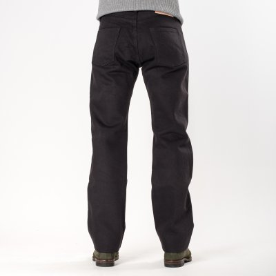 Grey 21oz Japanese Selvage Straight Cut Jean
