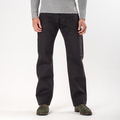 Grey 21oz Japanese Selvage Straight Cut Jean