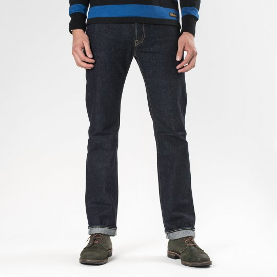 Indigo 14oz Selvedge Denim Slim Cut