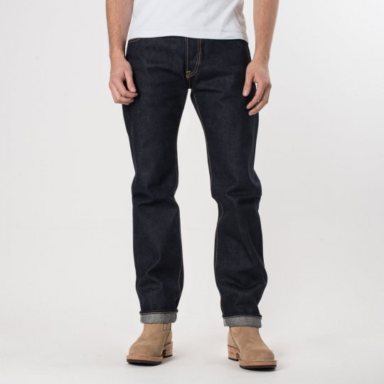Indigo 21-23oz Raw Selvedge Denim Slim Cut
