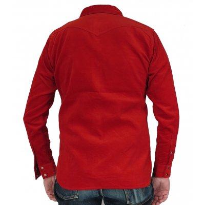 8oz Double Weave Needlecord Western Shirt