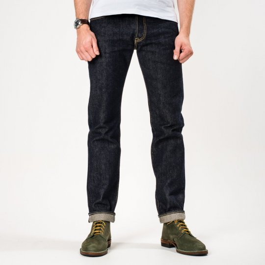 Indigo 21oz Selvedge Denim Super Slim Tapered