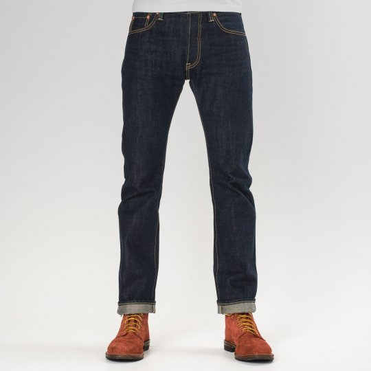 Natural Indigo 17oz Selvedge Denim Super Slim