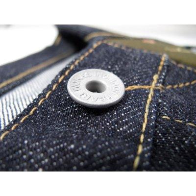 Indigo 18oz Raw Selvedge Denim Straight Cut Jean