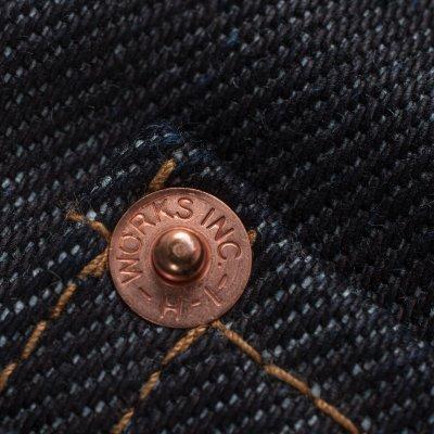 Indigo 21oz Denim Ladies Boot Cut