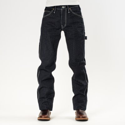 Indigo Wabash Painter's Pants